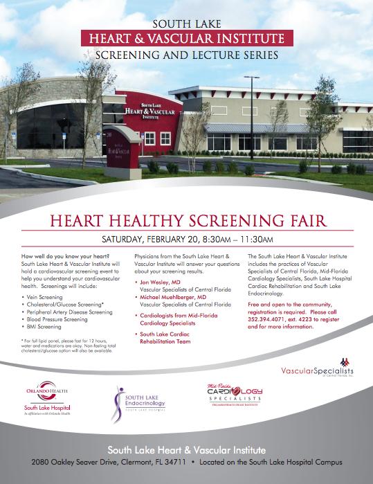 Heart Healthy Screening